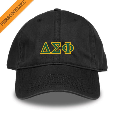 Delta Sig Personalized Black Hat