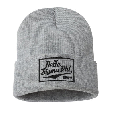 Delta Sig Classic Knit Beanie