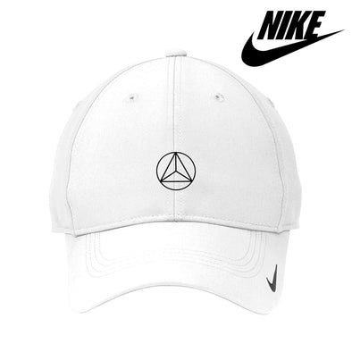 New! Delta Sig White Nike Dri-FIT Performance Hat