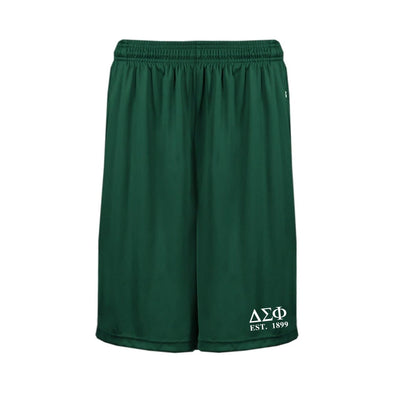 Delta Sig Forest Pocketed Performance Shorts