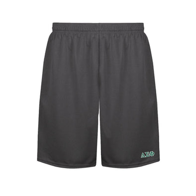 Delta Sig Charcoal Performance Shorts