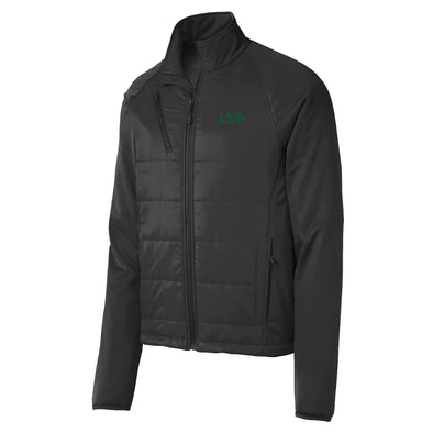Sale! Delta Sig Hybrid Soft Shell Jacket