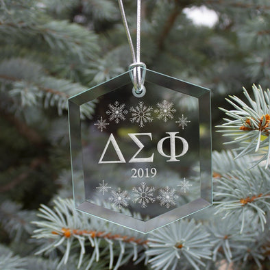 Clearance! Delta Sig 2019 Limited Edition Holiday Ornament