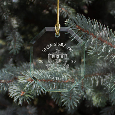 New! Delta Sig 2020 Limited Edition Holiday Ornament