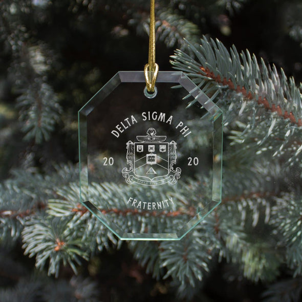 Delta Sig 2020 Limited Edition Holiday Ornament