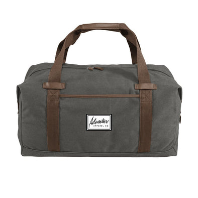 New! Adventure Apparel Canvas Duffel