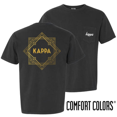 Kappa Comfort Colors Roaring Twenties Short Sleeve Pocket Tee