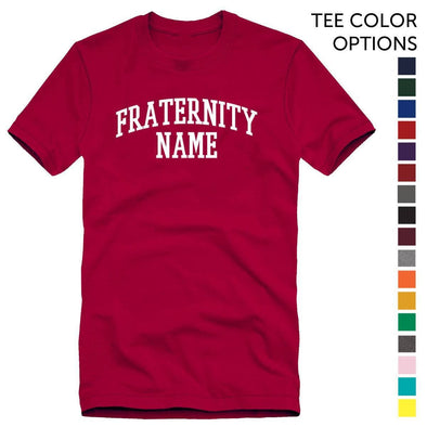 Pick Your Color Fraternity Basic Tee