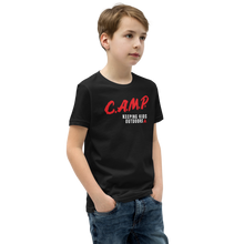 Load image into Gallery viewer, C.A.M.P. Kid's Premium Tee - Black