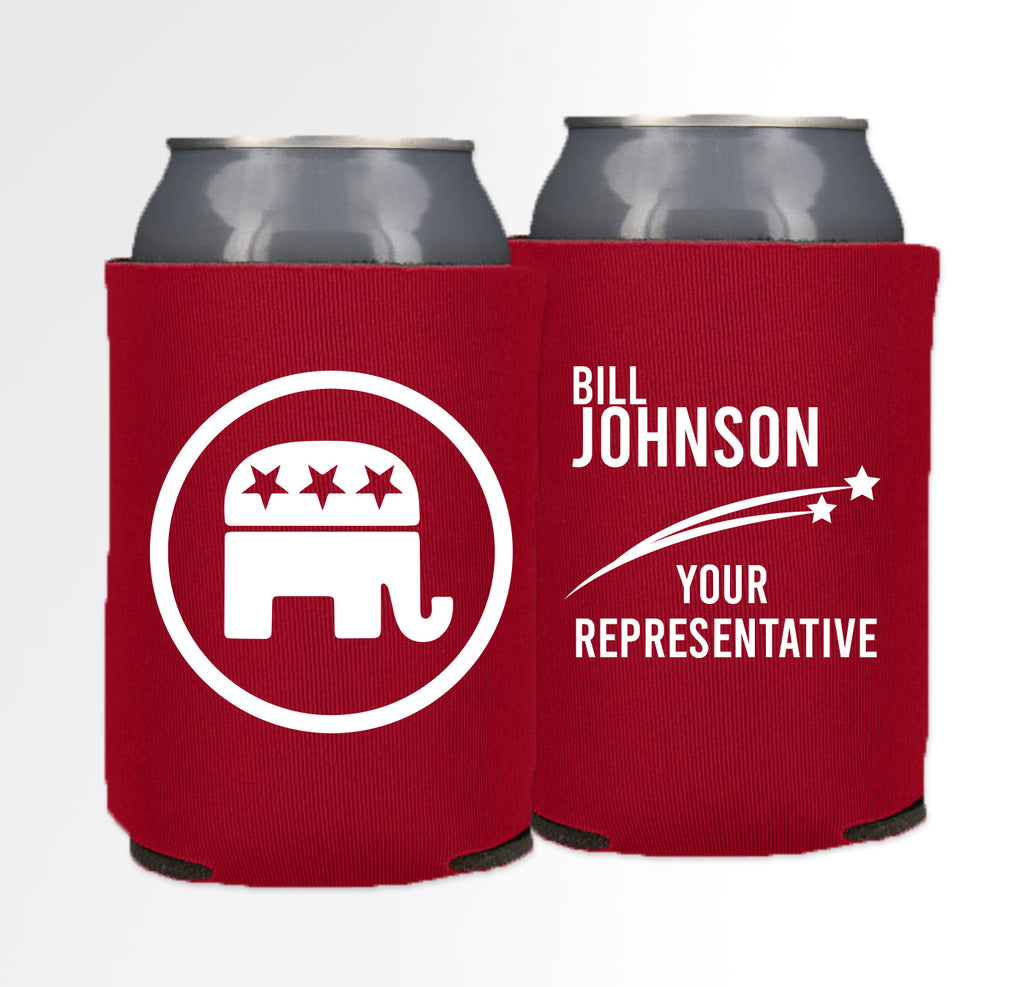Pre-Printed Foam Can - Election 01