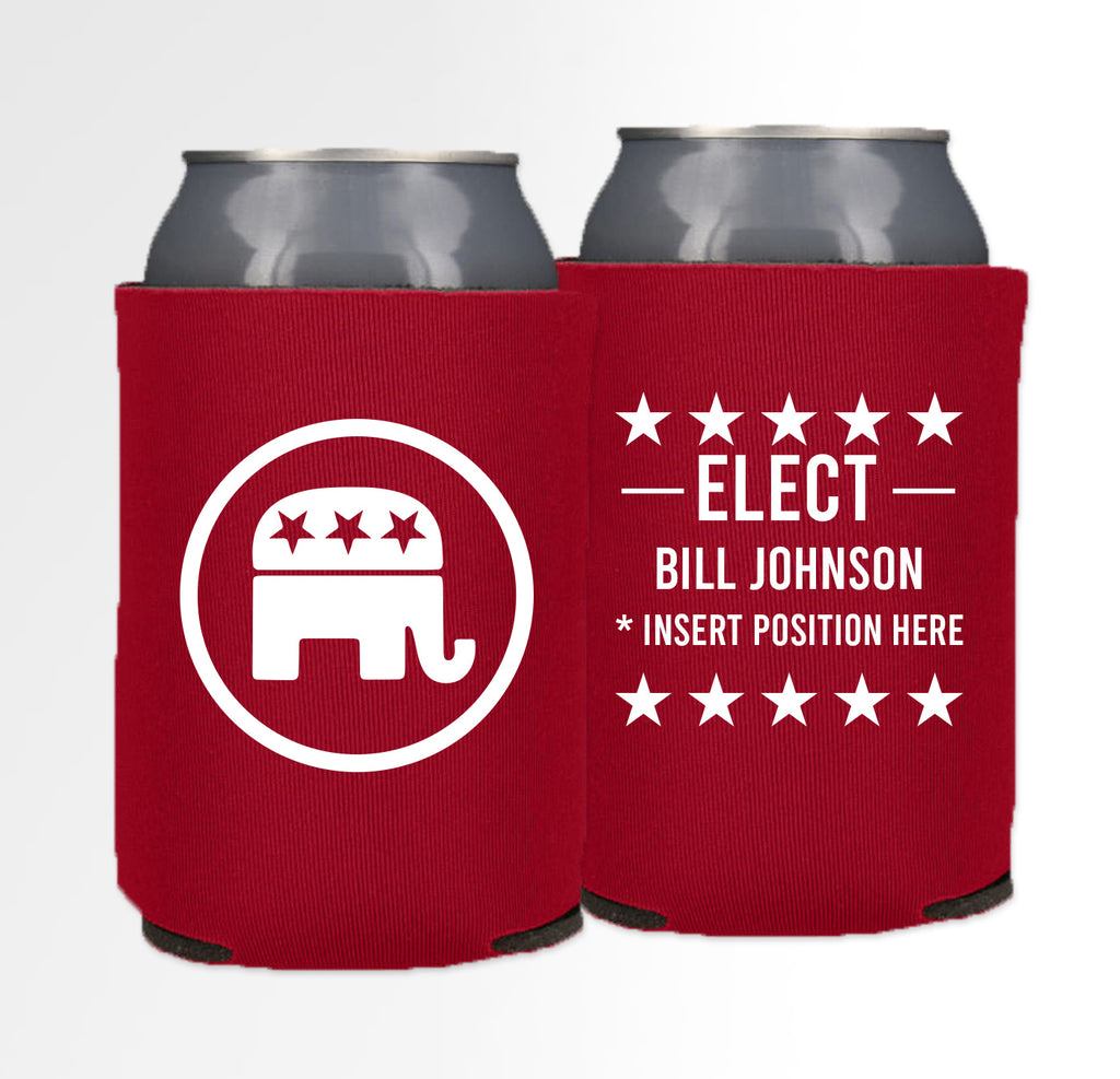 Pre-Printed Foam Can - Election 05