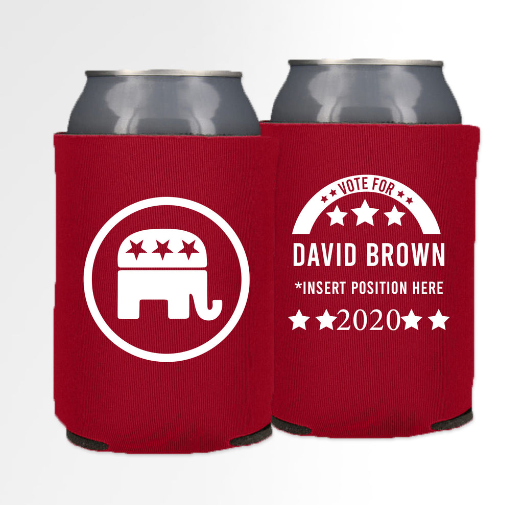 Pre-Printed Foam Can - Election 06