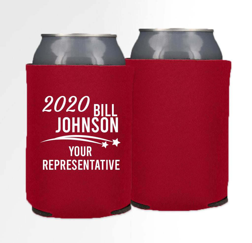 Pre-Printed Foam Can - Election 09