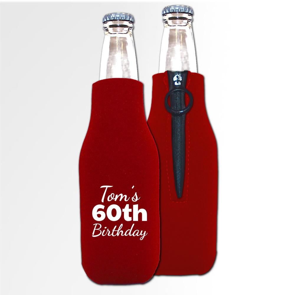 Birthday Template 11 B - Neoprene Bottle