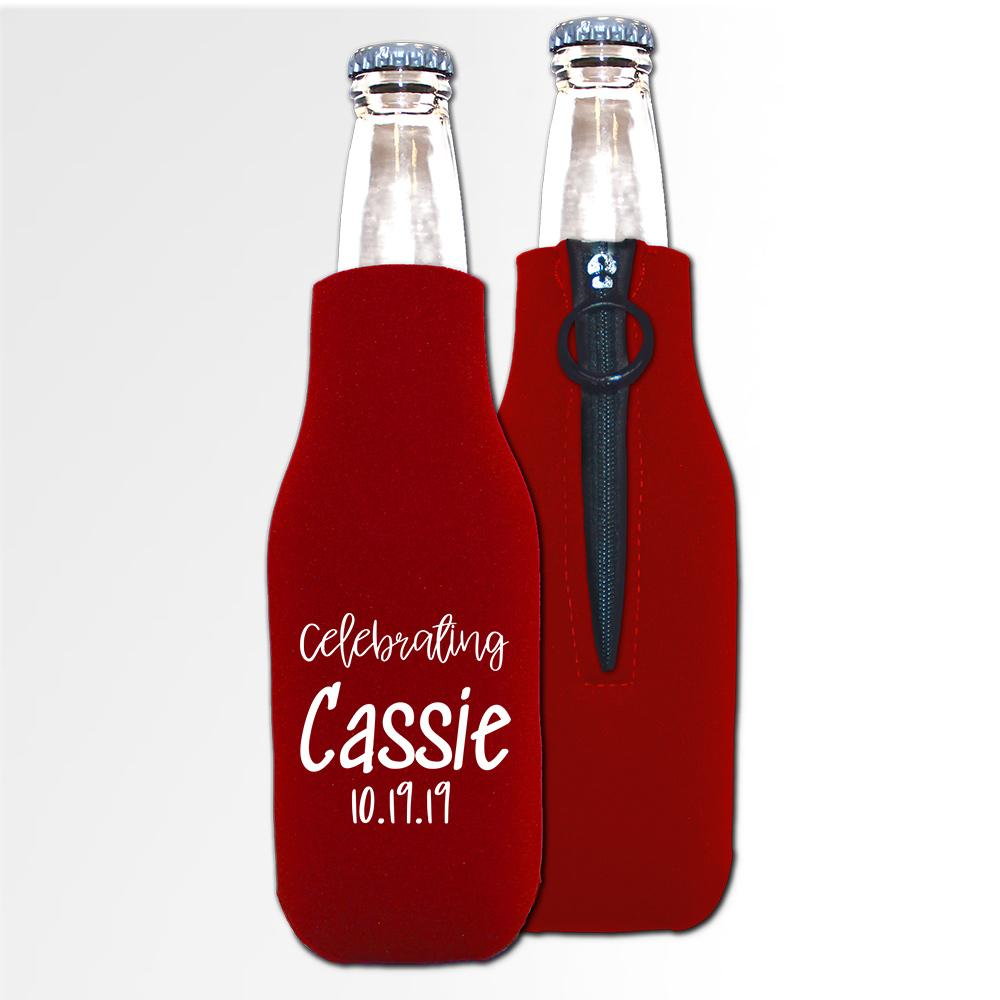 Birthday Template 12 A - Neoprene Bottle