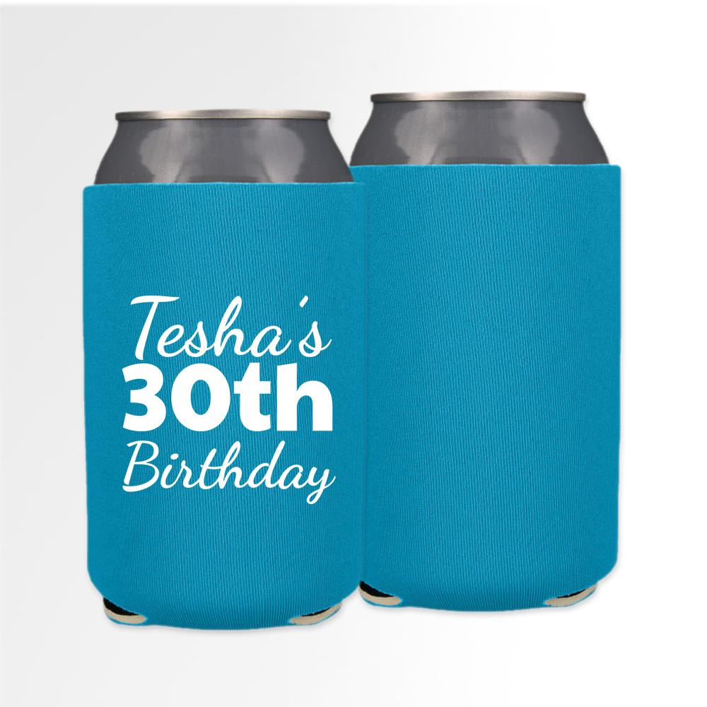 Birthday Template 14 - Neoprene Can