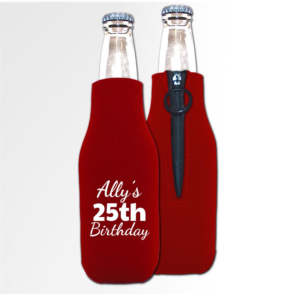 Birthday Template 15 - Neoprene Bottle