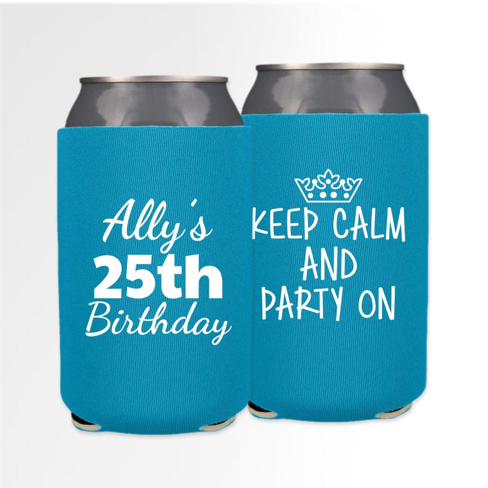 Birthday Template 15 - Neoprene Can