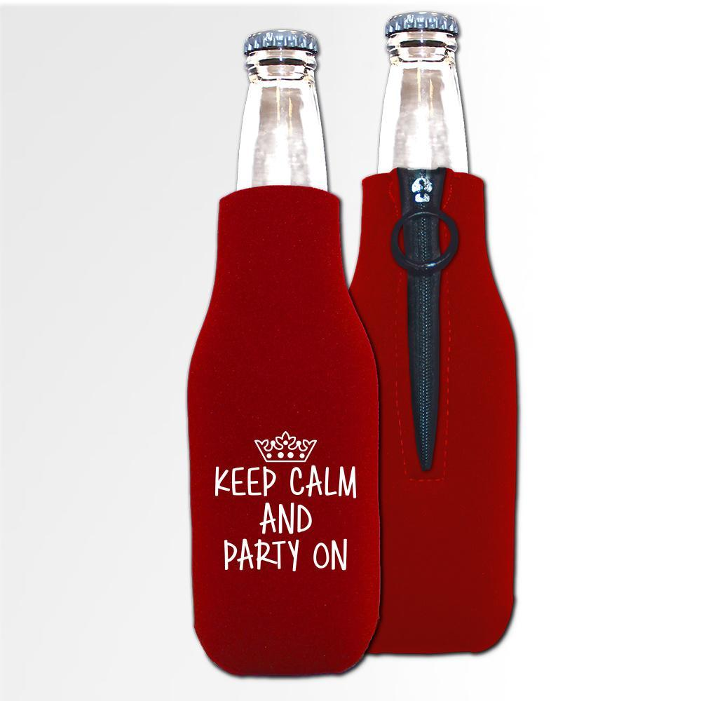 Birthday Template 08 A - Neoprene Bottle