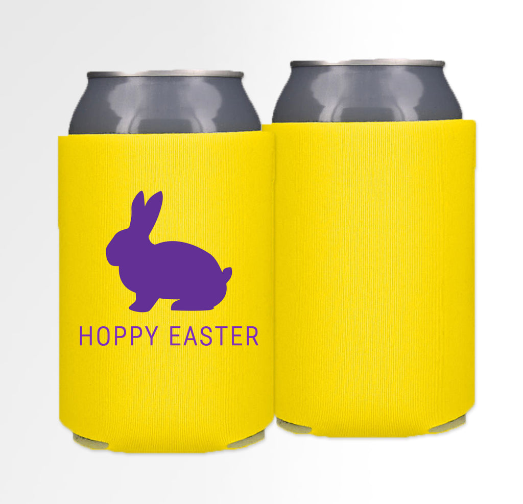 Pre-Printed Foam Can - Hoppy Easter