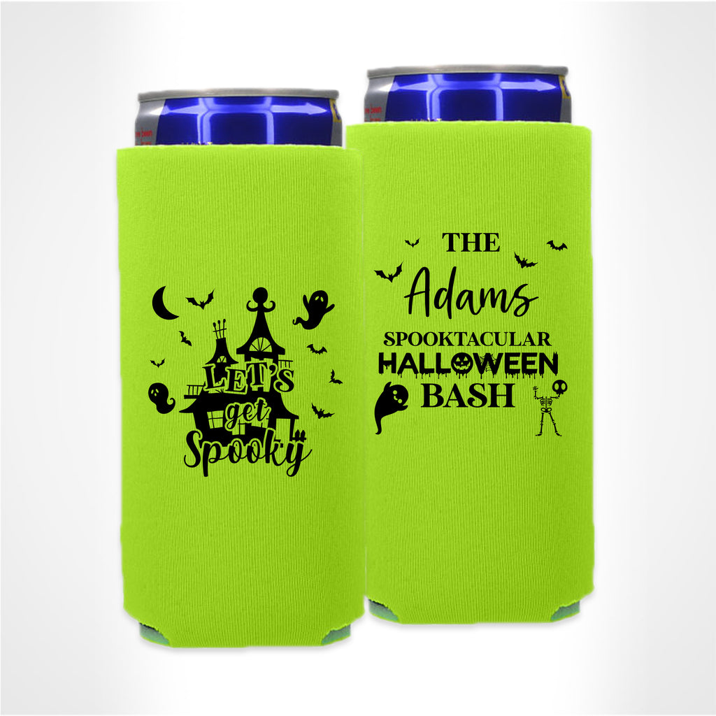 Halloween Template 01 -  Foam Slim Can