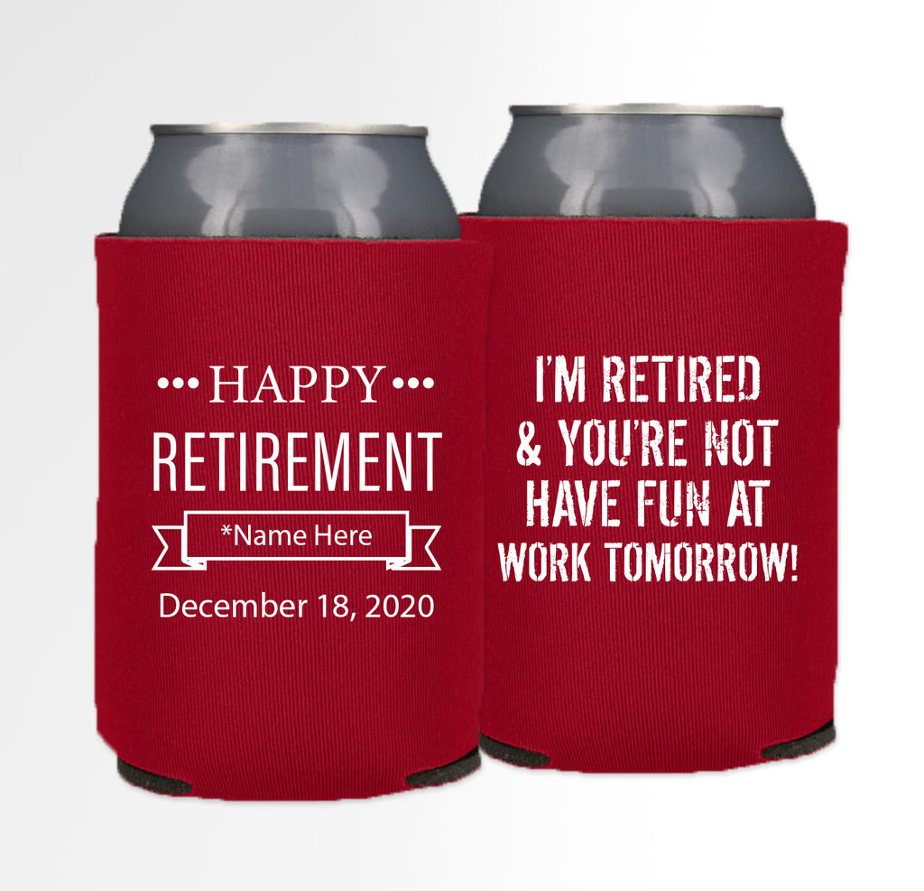Retirement Template 05 - Neoprene Can