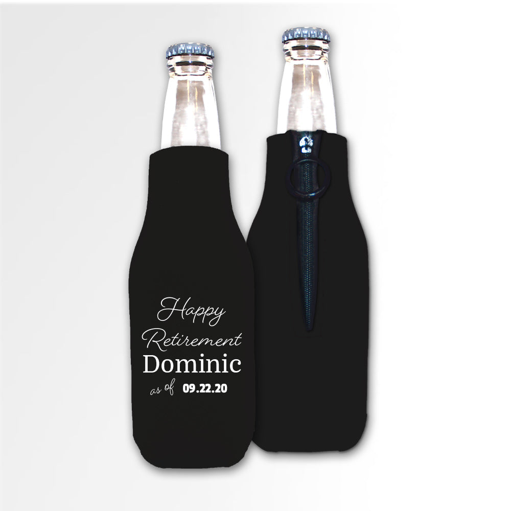 Retirement Template 07B - Neoprene Bottle