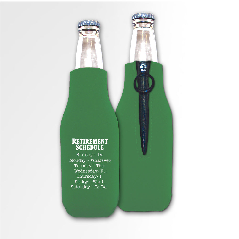 Retirement Template 08A - Foam Bottle
