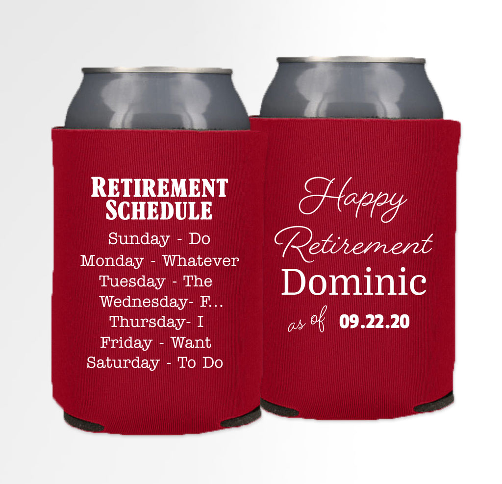 Retirement Template 08 - Neoprene Can