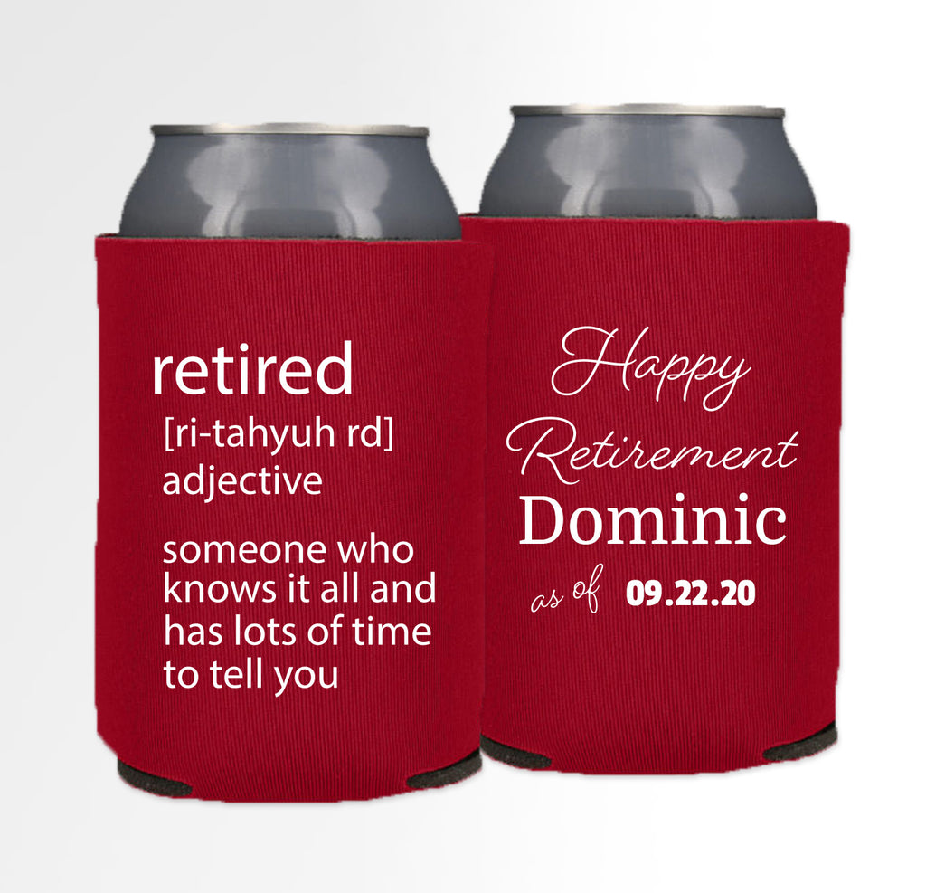 Retirement Template 09 - Neoprene Can