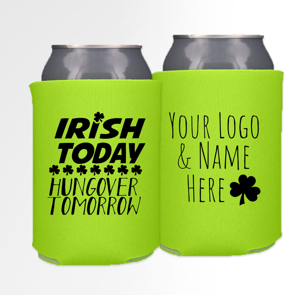 St. Patrick's Day Template 01 - Neoprene Can