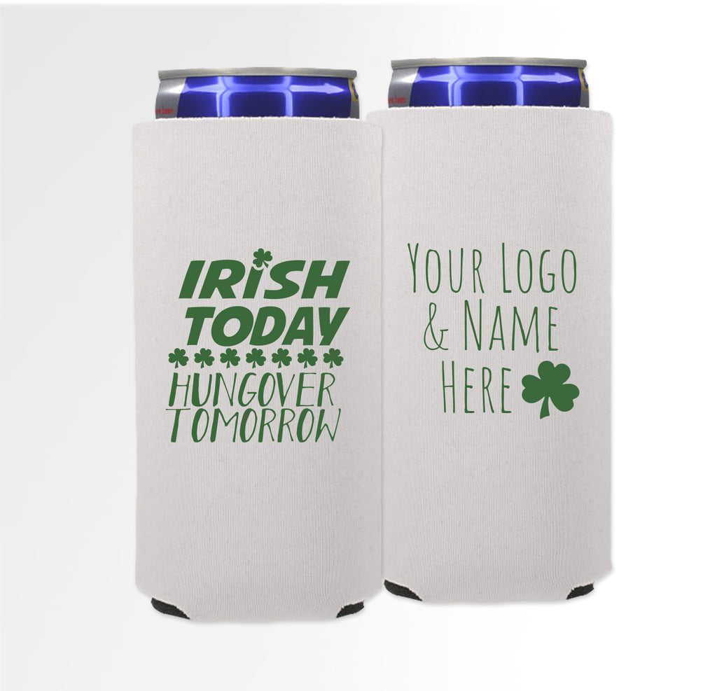 St. Patrick's Day Template 01 -  Foam Slim Can