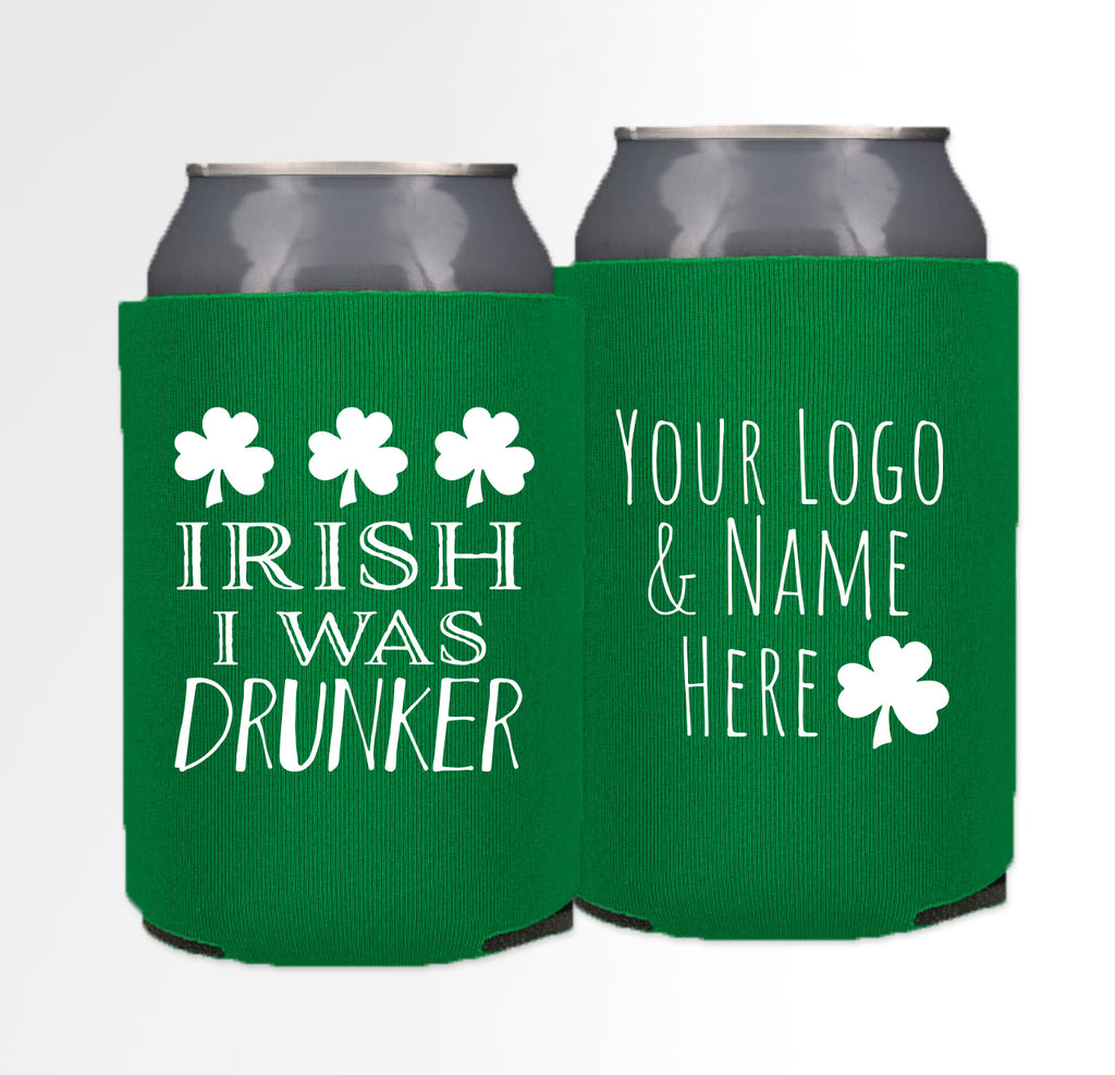 St. Patrick's Day Template 02 - Foam Can