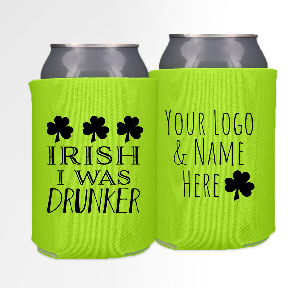 St. Patrick's Day Template 02 - Neoprene Can