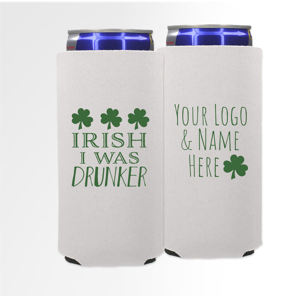 St. Patrick's Day Template 02 -  Foam Slim Can