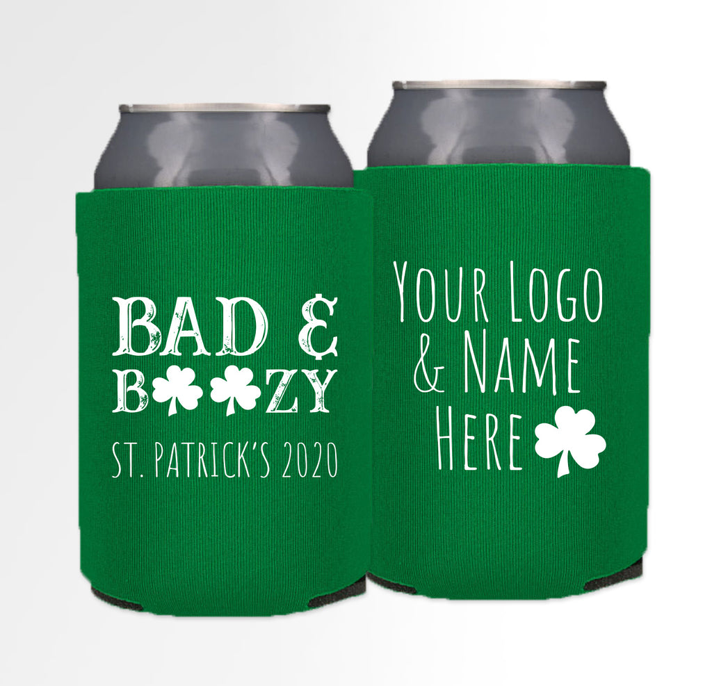 St. Patrick's Day Template 03 - Foam Can