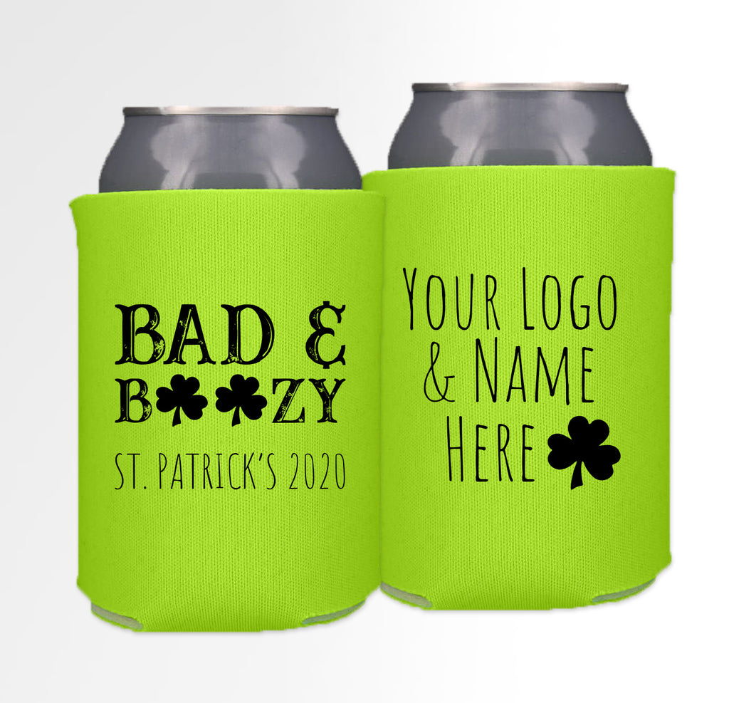 St. Patrick's Day Template 03 - Neoprene Can