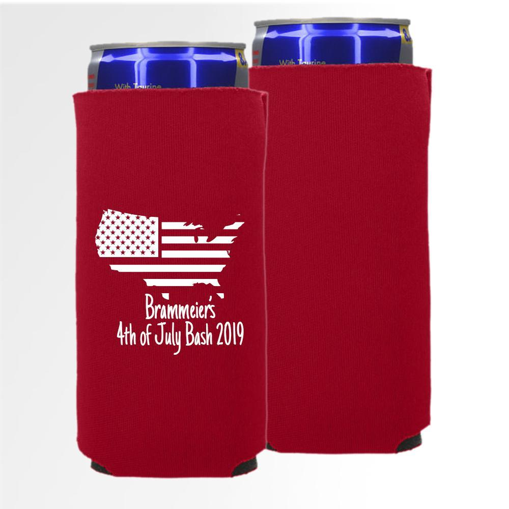 USA Template 10 -  Slim Can