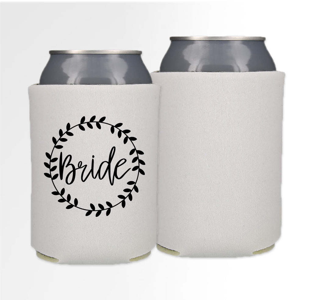Pre-Printed Foam Can - Bride