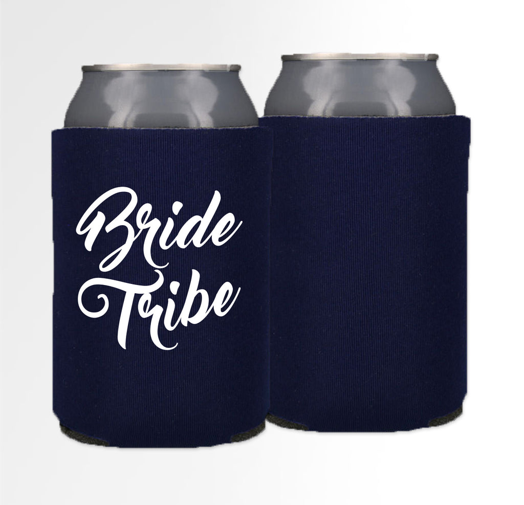 Pre-Printed Foam Can - Bride Tribe