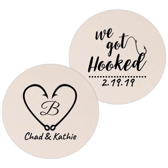 Coaster - Double Side - Wedding Template 03