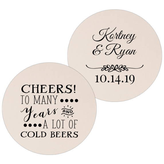 Coaster – Wedding Template 24