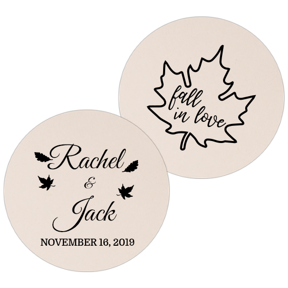 Coaster - Double Side - Wedding Template 39