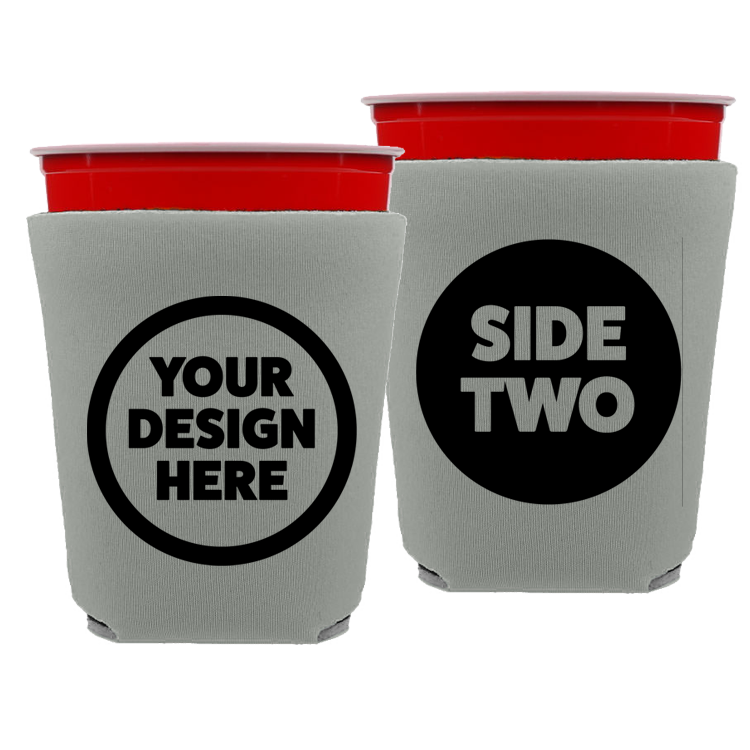 Solo Cup Foam - One Color, Double Side Print