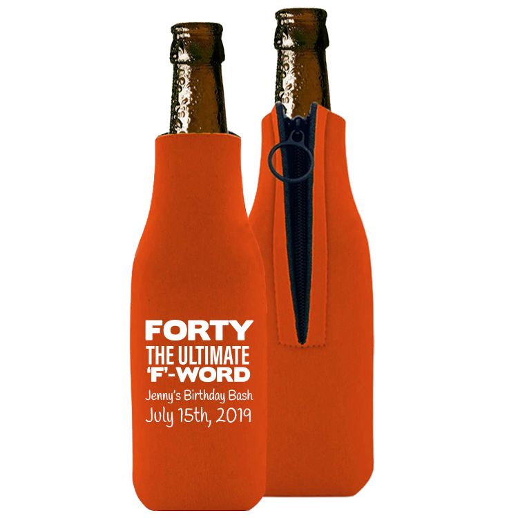 Birthday Template 01 - Foam Bottle