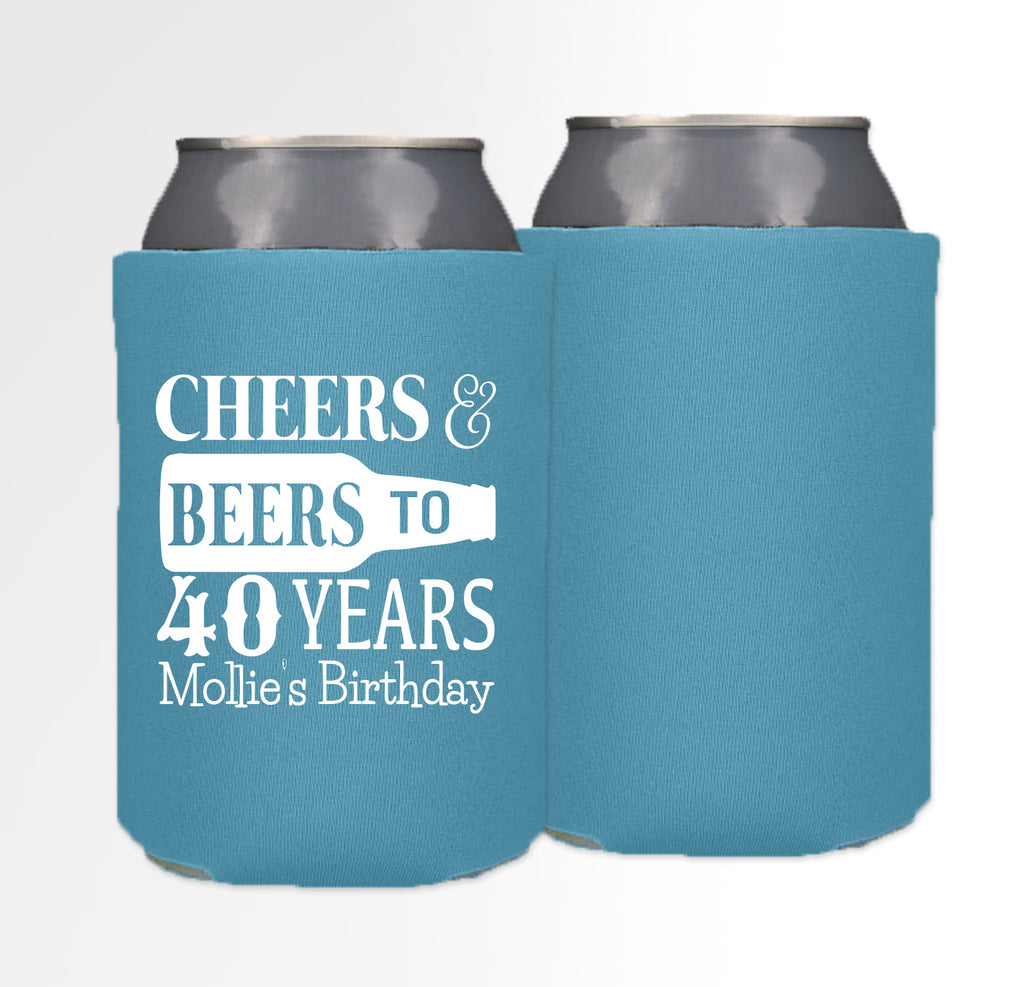 Birthday Template 13 - Neoprene Can