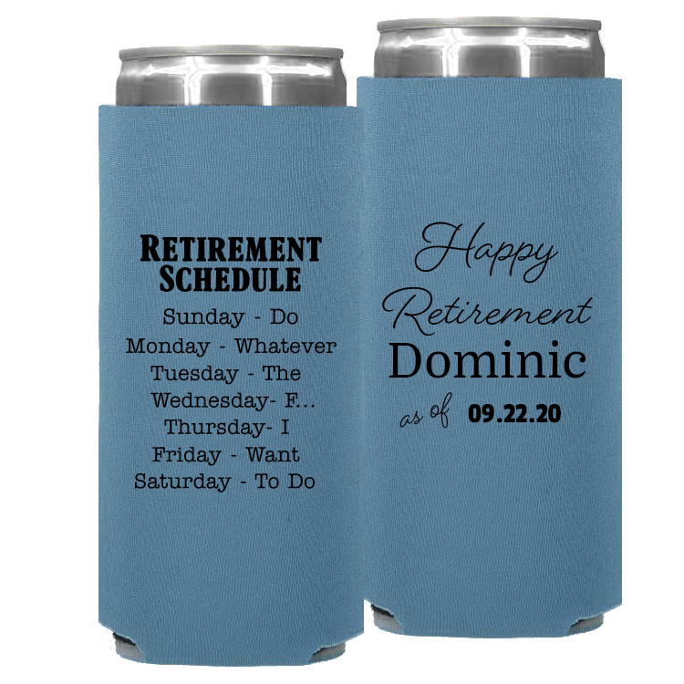 Retirement Template 08 – Neoprene Slim Can