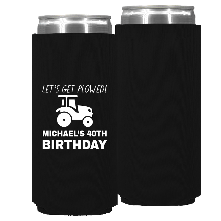 Birthday Template 09 – Neoprene Slim Can