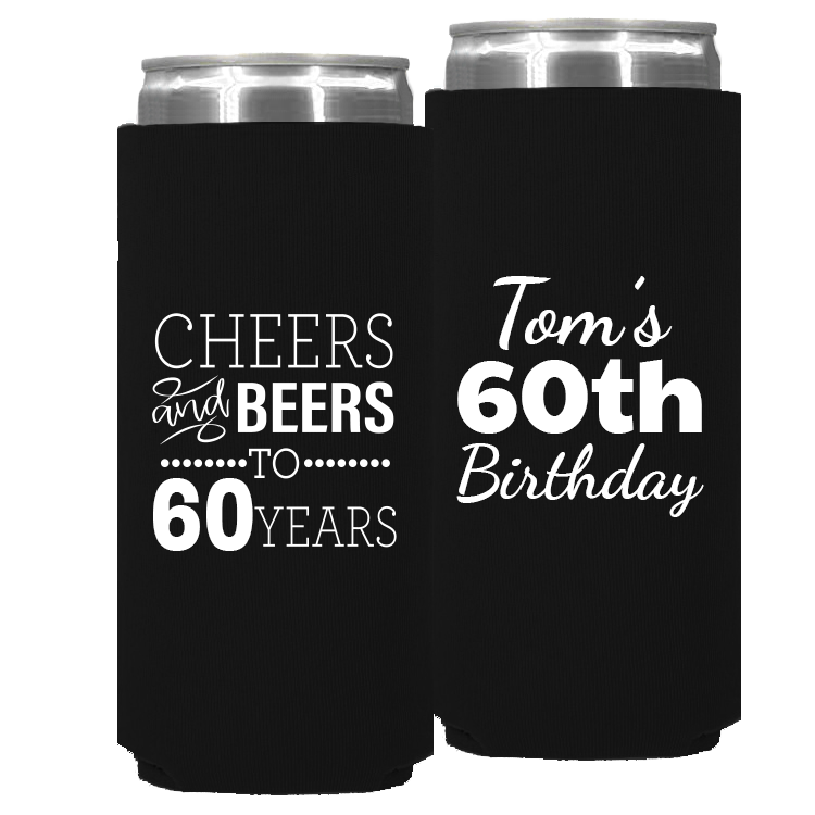Birthday Template 11 – Neoprene Slim Can