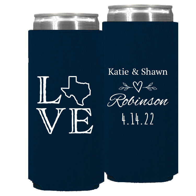 Wedding Template 94 -  Foam Slim Can